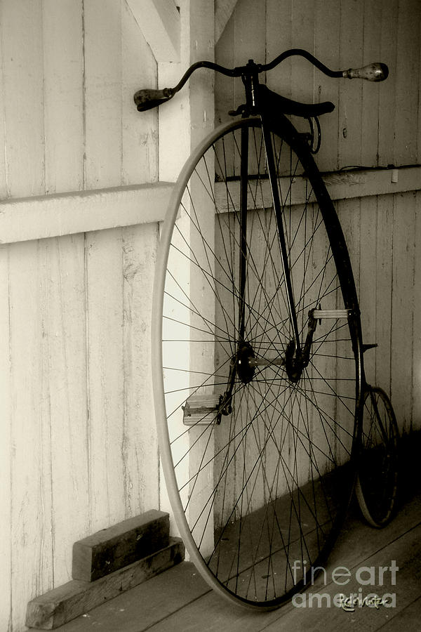 Velocipede Photograph - Firehouse Velocipede by RC deWinter