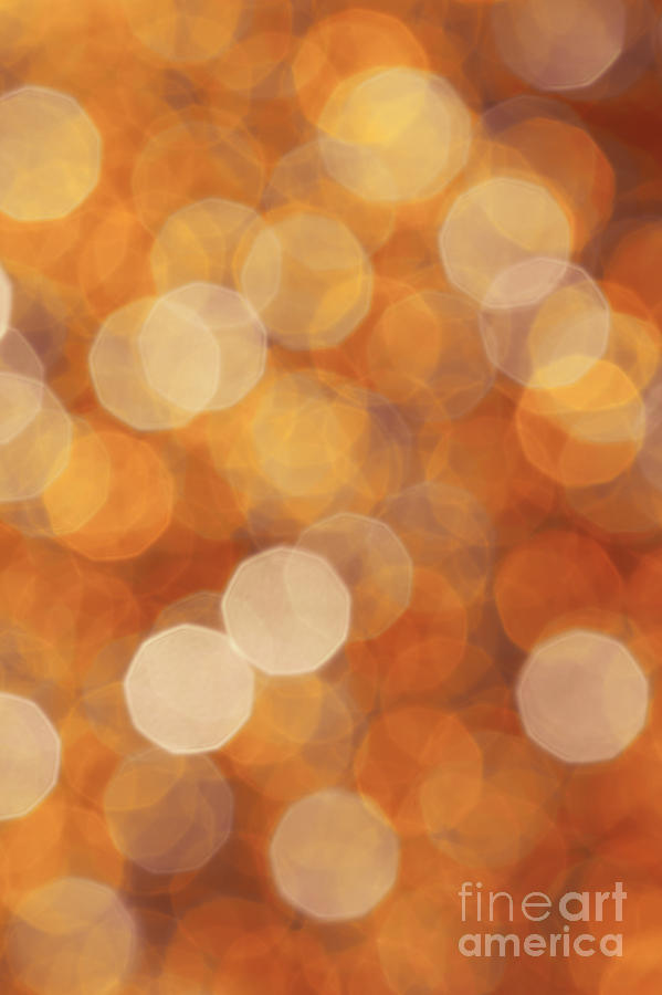 Abstract Photograph - Firelight by Jan Bickerton