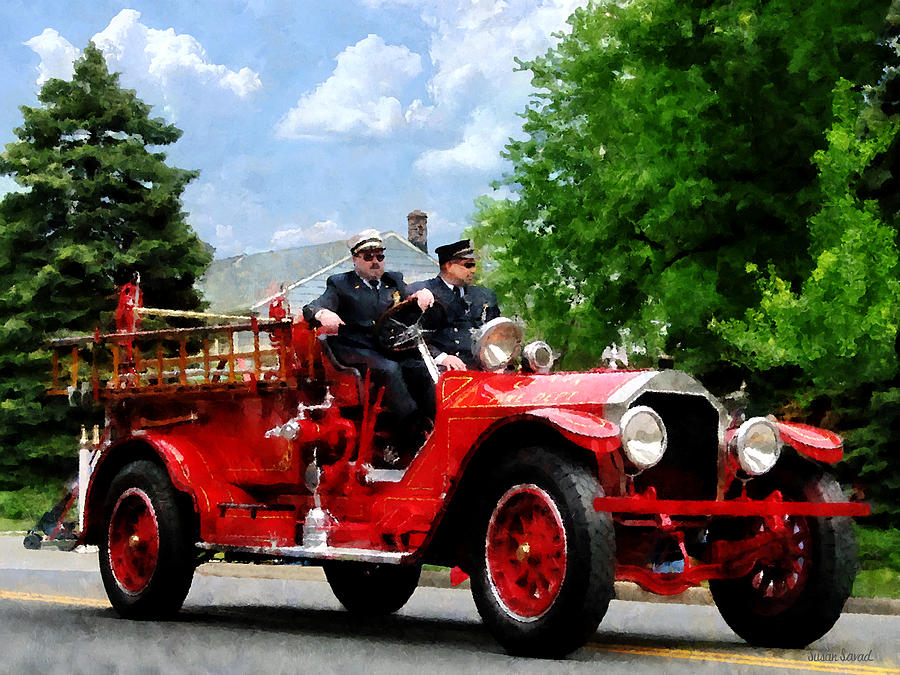 Old Fashioned Firefighters