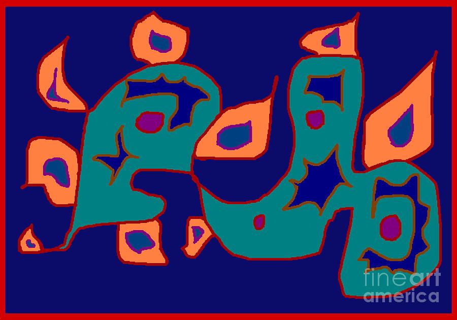 Firent Digital Art by Meenal C