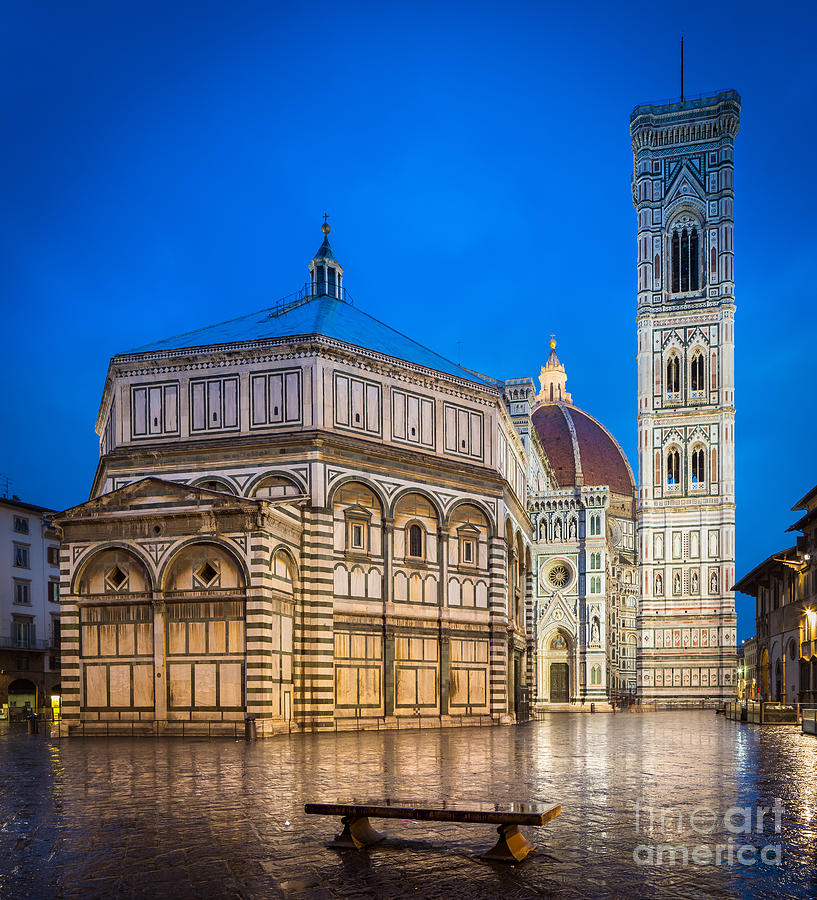 Christian Photograph - Firenze Duomo by Inge Johnsson