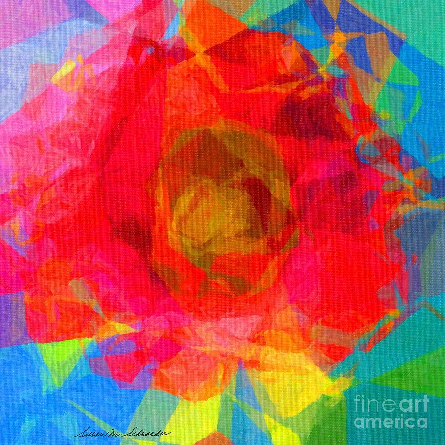 Firewheel - Gaillardia Pulchella by Susan Schroeder