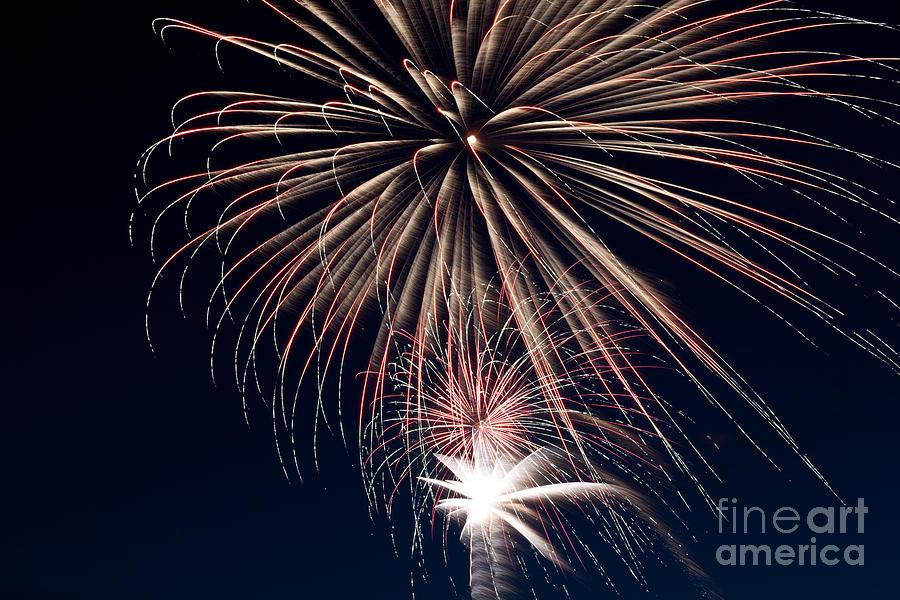 Fireworks Photograph - Firework Stack by Jason Meyer