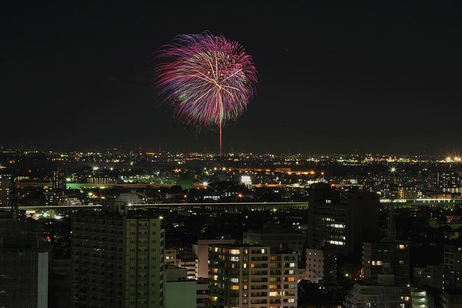 Firework Photograph by Yasuhiro Asai