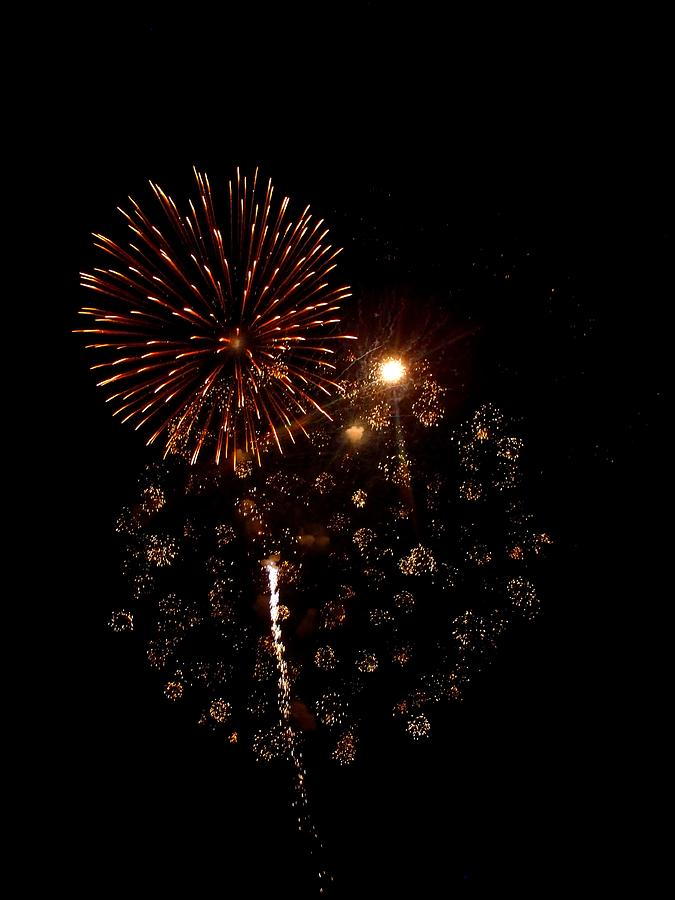 Fireworks Photograph - Fireworks 12 by Mark Malitz