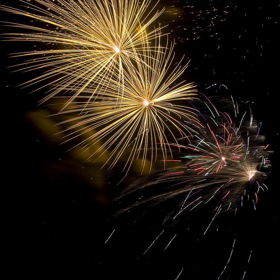 4th Of July Photograph - Fireworks 20 by Sandy Swanson