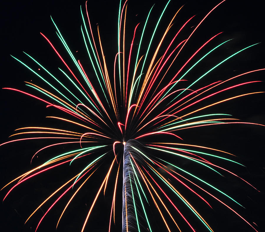 Fireworks Photograph - Fireworks 20 by Staci Bigelow
