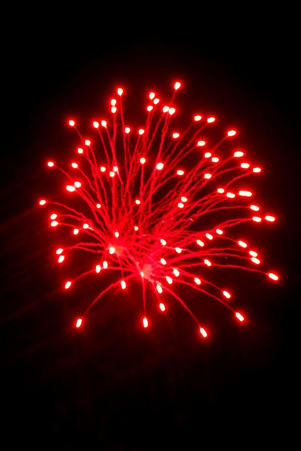 Fireworks Photograph - Fireworks 6 by Mark Malitz