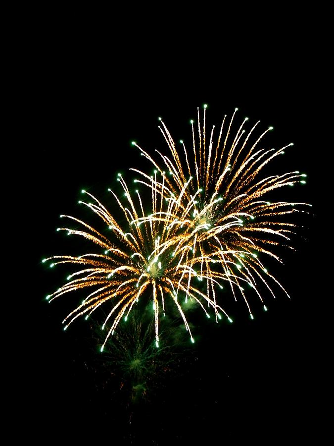 Fireworks Photograph - Fireworks 8 by Mark Malitz