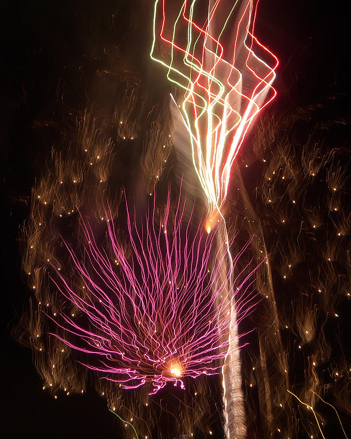 Fireworks Photograph - Fireworks by Aimee L Maher Photography and Art Visit ALMGallerydotcom