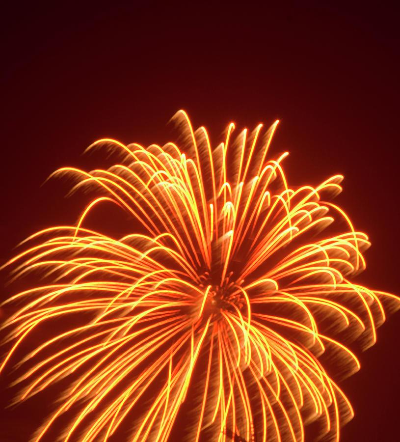 Fireworks Photograph by Dennis Mccoleman