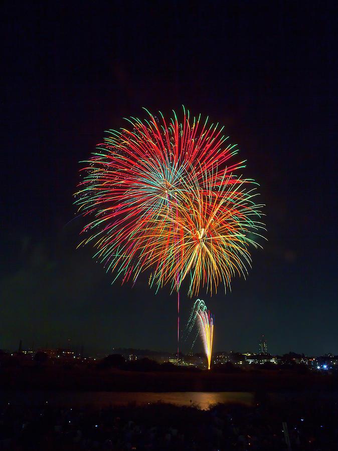 Fireworks Photograph by Digipub