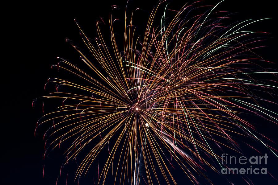 Fireworks Photograph - Fireworks by Jason Meyer