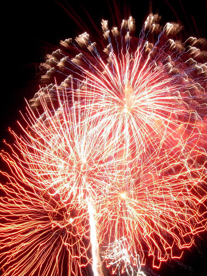 Fireworks Photograph - Fireworks by Joseph Norniella
