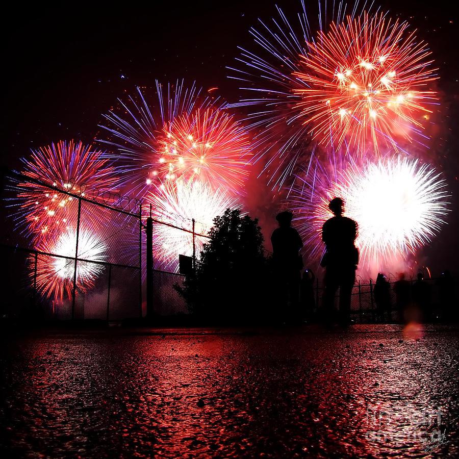 New York City Photograph - Fireworks by Nishanth Gopinathan