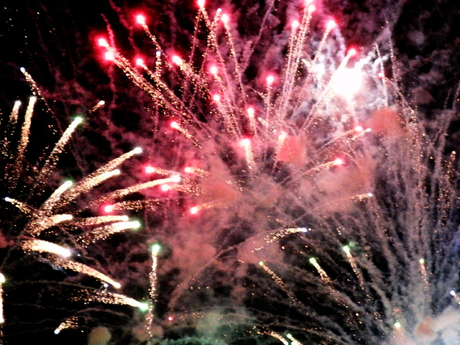 4th Photograph - Fireworks  by Paul Ganser