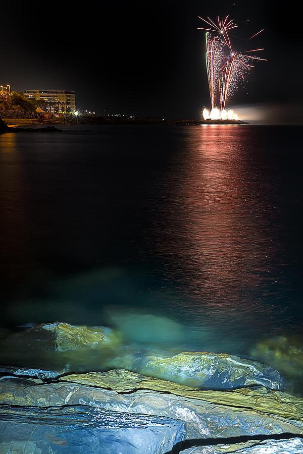 Fireworks Photograph - Fireworks San Lorenzo Al Mare 2013 1994 - Ph Enrico Pelos by Enrico Pelos