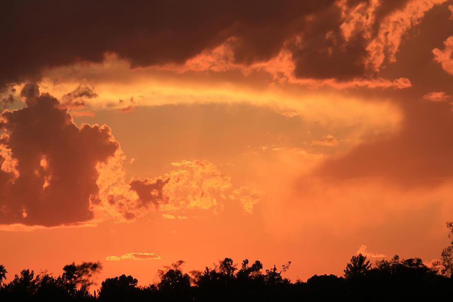 Firey Sunrise Photograph