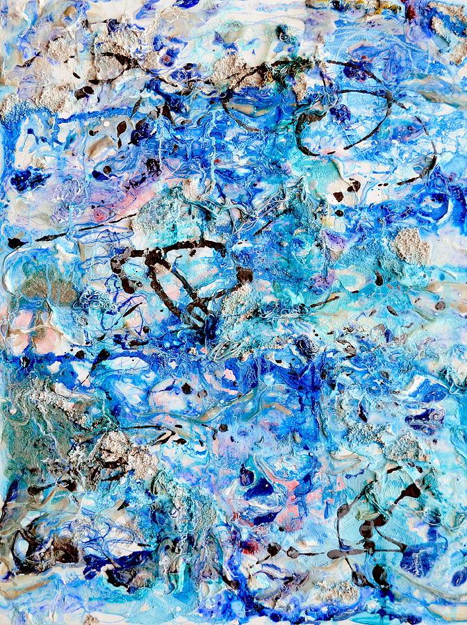 Abstract Painting - Firmament by Regina Valluzzi