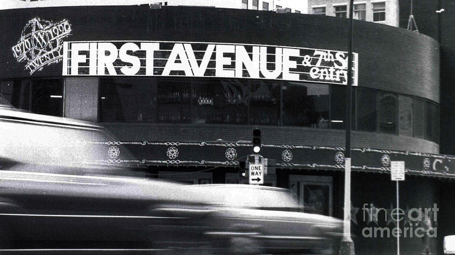 Cars Photograph - First Avenue by Kip Krause