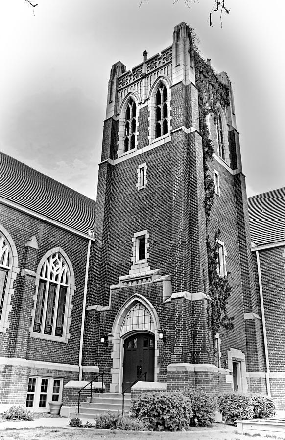 First Baptist Church Boulder Study 1 Photograph