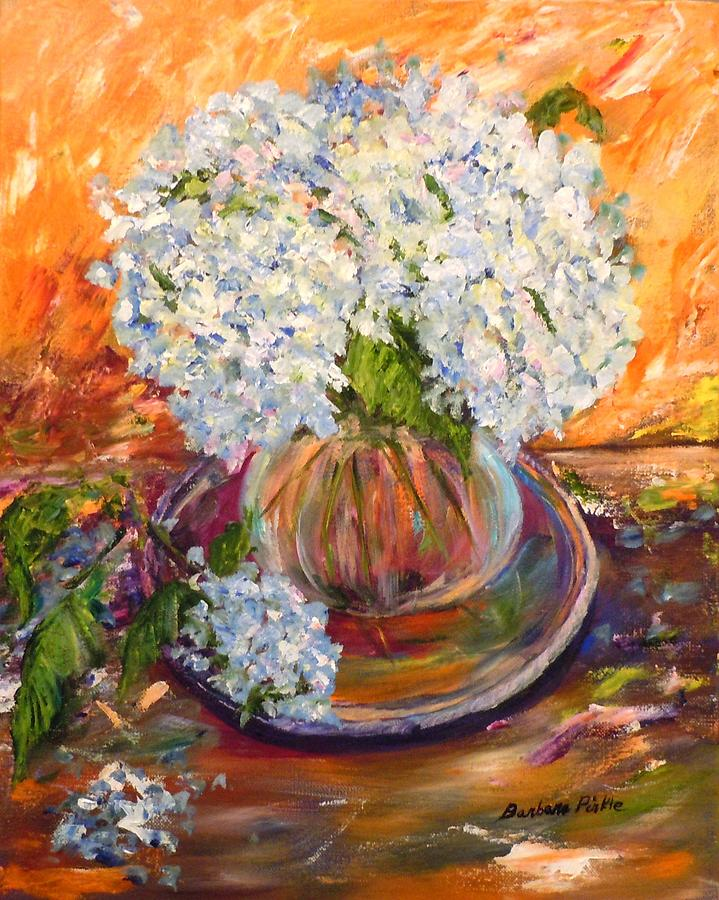 Still Life Painting - First Bouquet by Barbara Pirkle