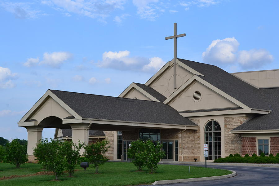 First Christian Church In Springfield Ohio Photograph By