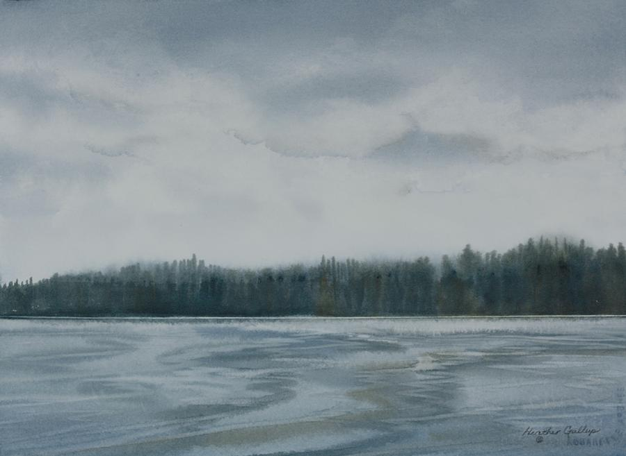 Frost Painting - First Frost by Heather Gallup