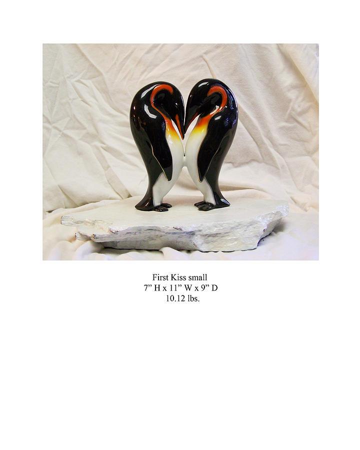 Sculpture Sculpture - First Kiss by Karl Sanders