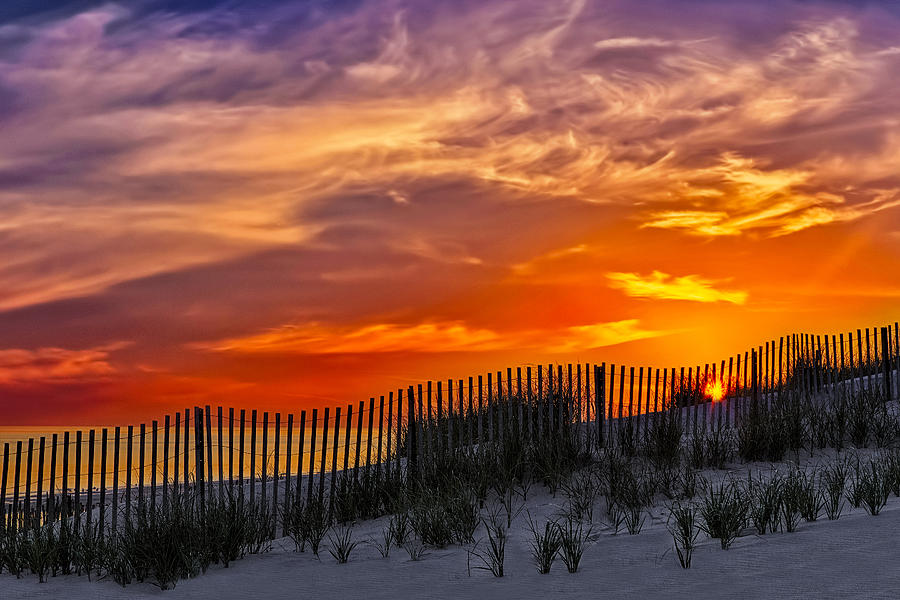 Cape Photograph - First Light At Cape Cod Beach  by Susan Candelario