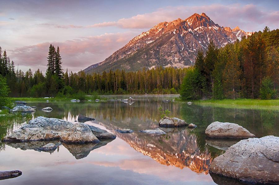 Landscape Photograph - First Light  by Greg Wyatt