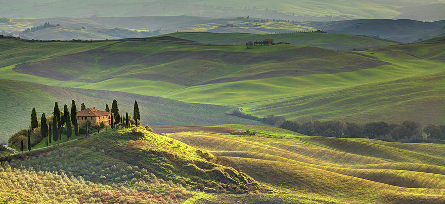 First Light In Tuscany Photograph by Maurice Ford