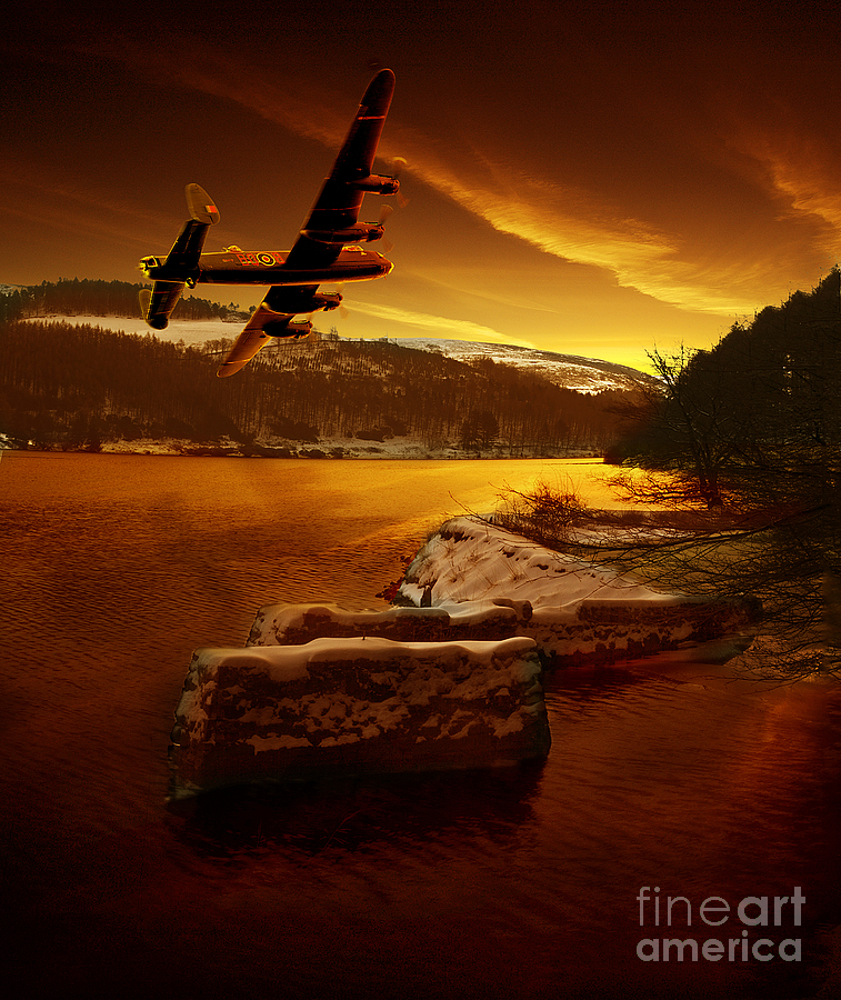 Operation Chastise Photograph - First Light by Nigel Hatton