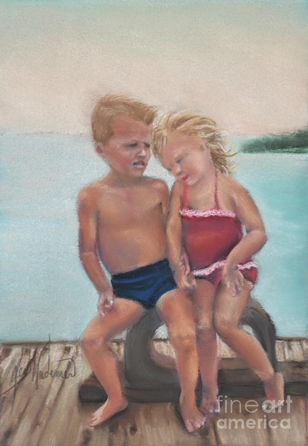 Soft Pastels Pastel - First Love by Leah Wiedemer
