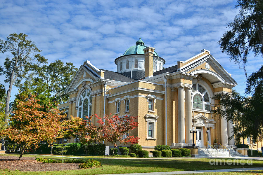 Church Photograph - First Methodist Church by Kathy Baccari