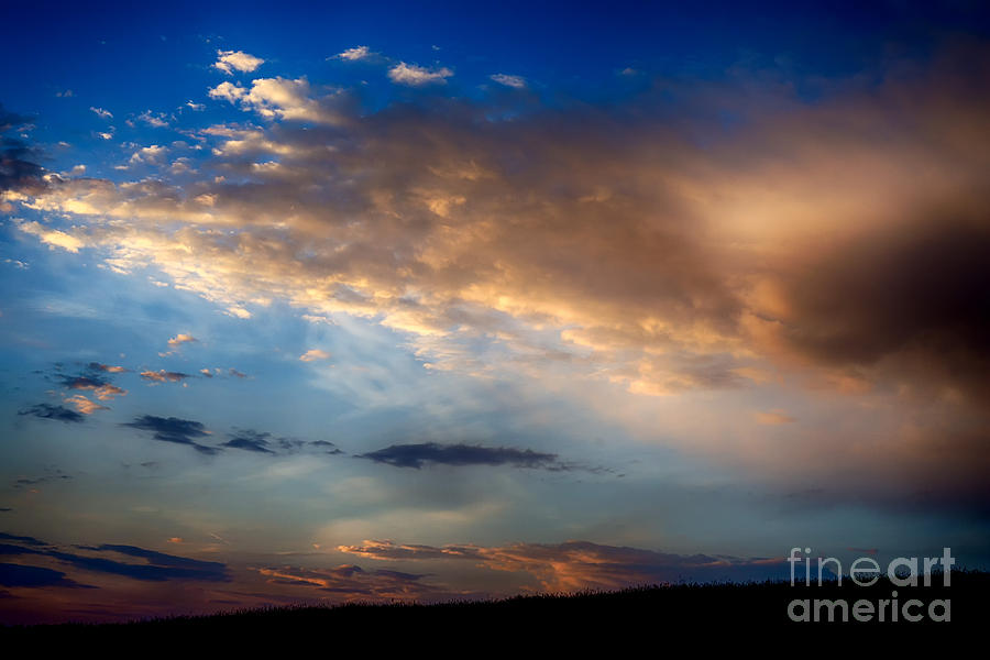 Clouds Photograph - First Morning Light by Thomas R Fletcher