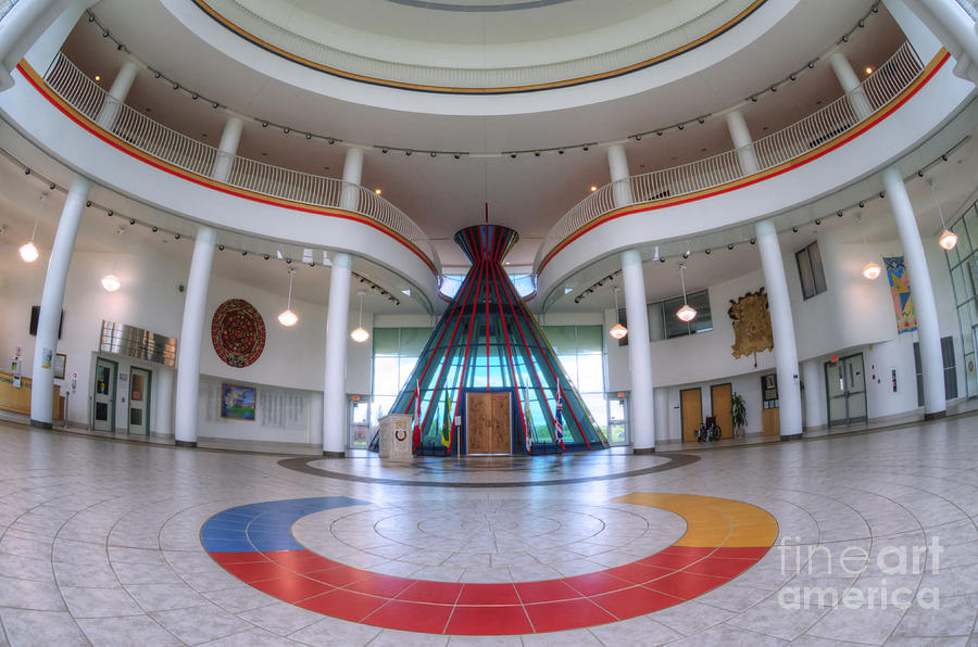 First Nations University Of Canada Interior Photograph By