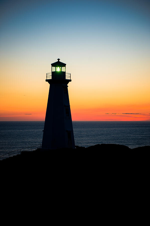 Cape Spear Photograph - First Sunrise by David Pinsent