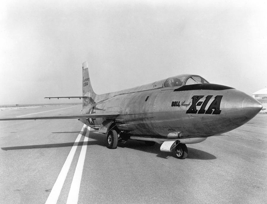 Science Photograph - First Supersonic Aircraft, Bell X-1 by Science Source