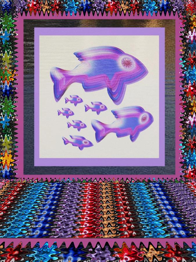 Poisson Chat Decor Aquarium