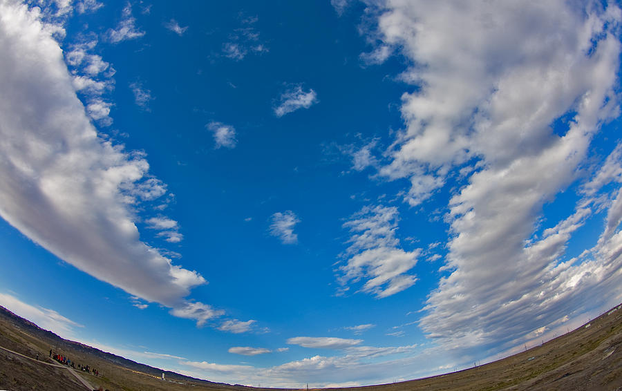 China Photograph - Fish-eye Sky by Jason KS Leung