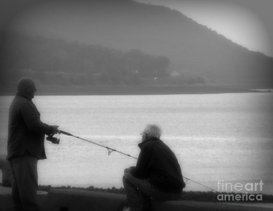 Fishing Photograph - Fish Tales by Lorraine Heath