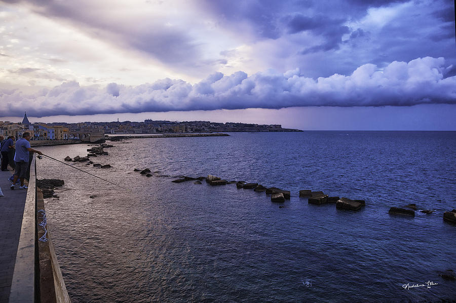 Fisherman Photograph - Fisherman - Sicily by Madeline Ellis