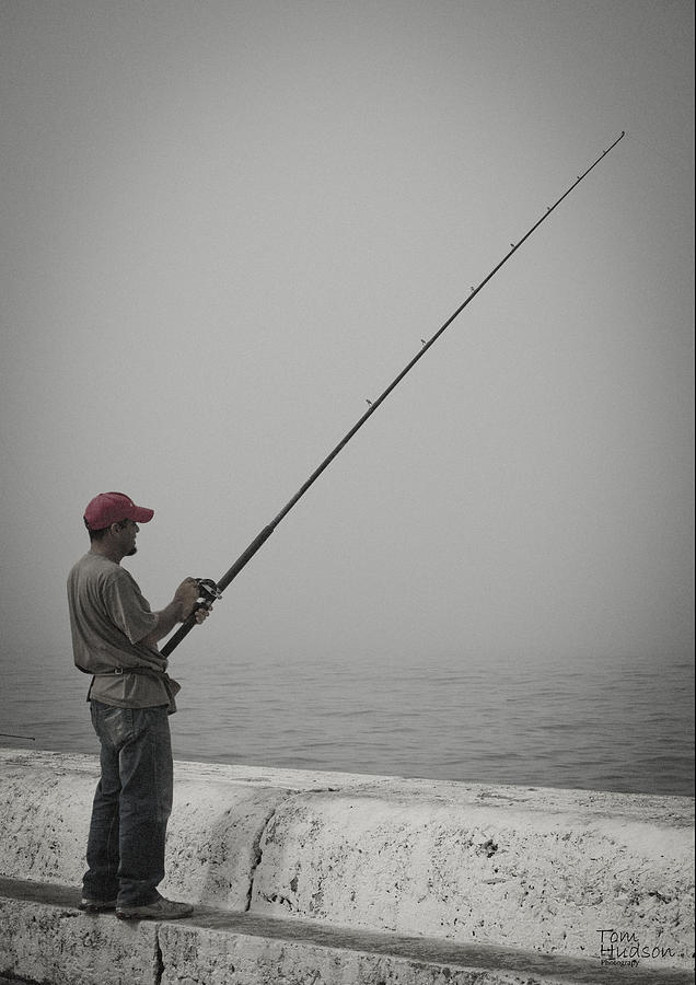 Fisherman Photograph by Tom Hudson