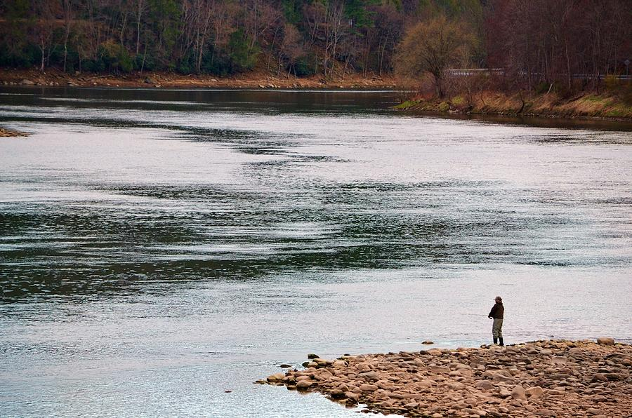 Fisherman Photograph - Fisherman by Azy Foley Photography