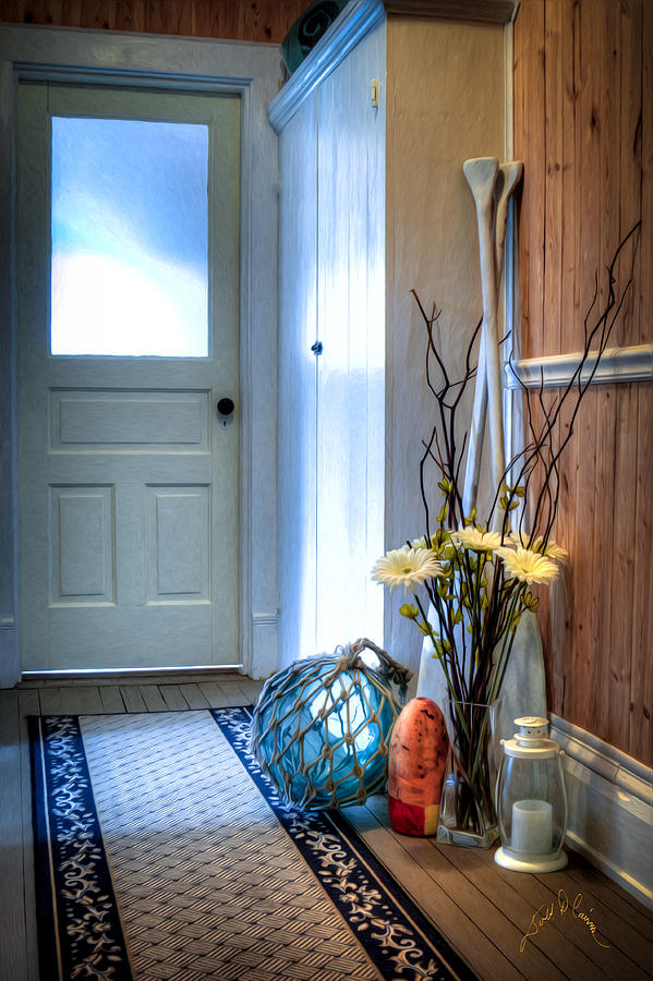 Fishermans Hallway Photograph by Williams-Cairns Photography LLC