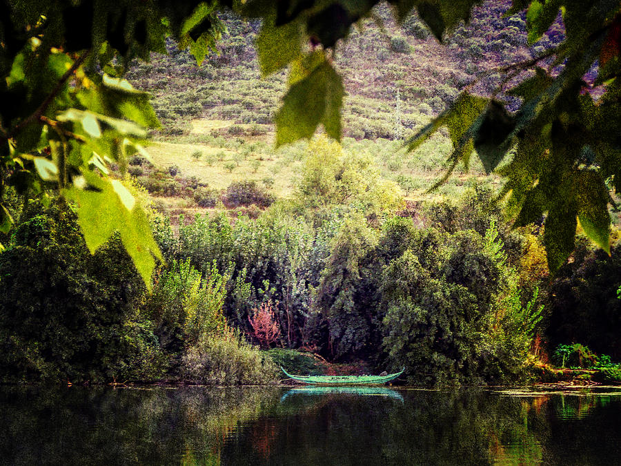 River Douro Photograph - Fishing Boat On The River Douro by Lynn Bolt