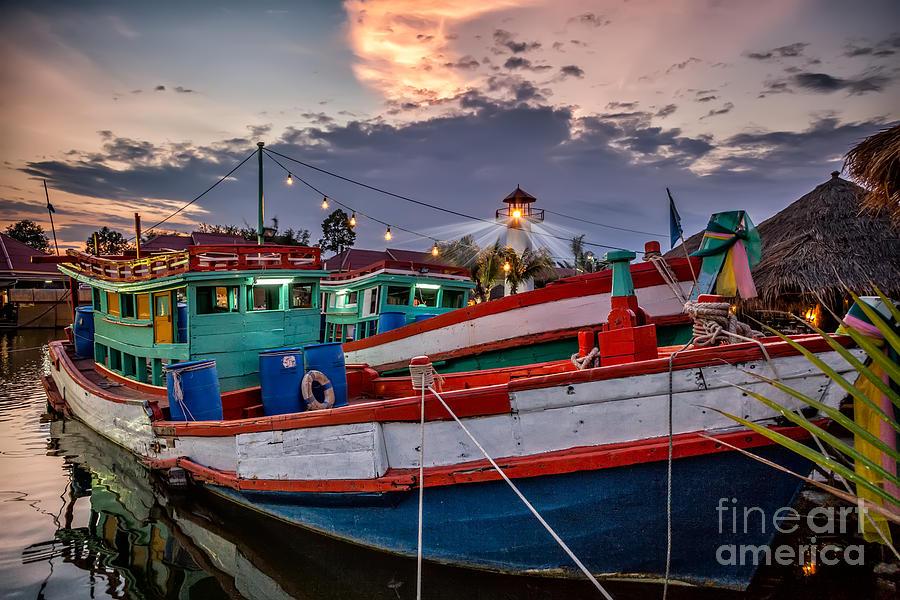 Hdr Photograph - Fishing Boat V2 by Adrian Evans