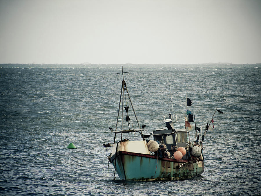 Fishing Boat Photograph by Vfka