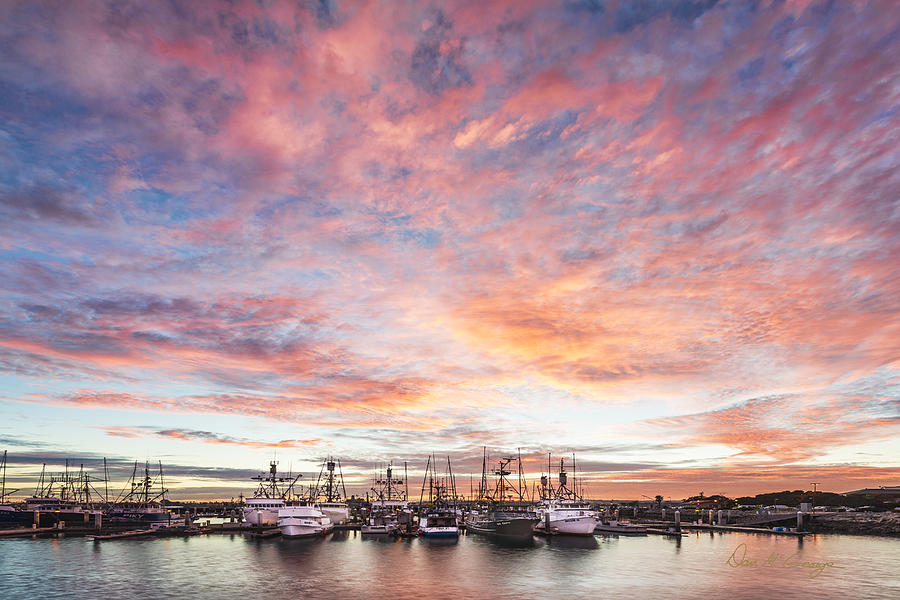 Sunset Photograph - Fishing Boats by Dan McGeorge